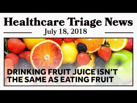 Juice: It's Sugary, It's Caloric, and It's Not Great for You