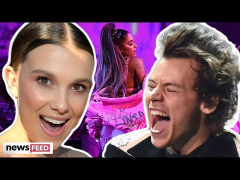Millie Bobby Brown and Harry Styles PARTY Together At Ariana Grande Concert!