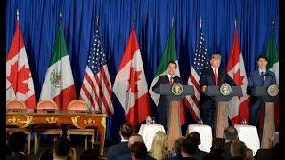 CUMBRE DE LÍDERES DEL G20:  Firma del Tratado México – Estados Unidos – Canadá (T-MEC)