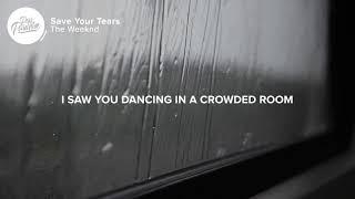 THE WEEKEND ( save your tears )  lyrics