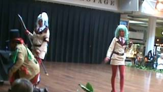 COSPLAY HONOLULU HAWAII HI Aug 27th, 2011, caramelldansen Caramell dancing group UUU AUA song