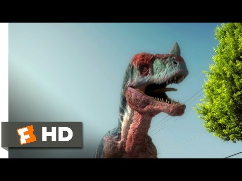 Age Of Dinosaurs (5/10) Movie CLIP - Dino Driving (2013) HD