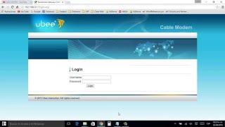 Como cambiar nombre y clave de tu red Wi Fi router ubee tutorial full