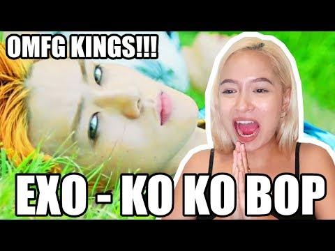EXO - KO KO BOP REACTION「THAT BEAT THOUGH!!!」