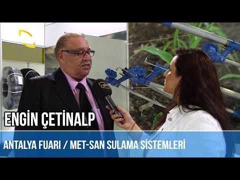Fuar Röportajları / MET-SAN SULAMA SİSTEMLERİ - Engin Çetinalp
