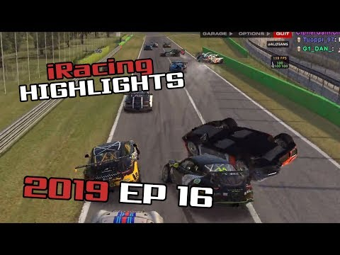 iRacing Twitch Highlights, 2019 Ep. 16 (Fails, Wins and Funny Moments)