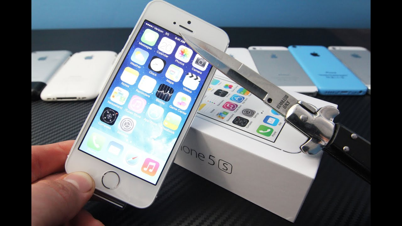 iphone 5s in hand iphone 5s unboxing on amp impressions 8204