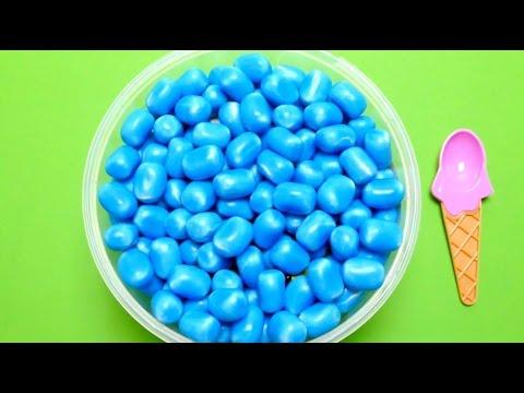 Surprise Toys in Haribo Maoam Blue Kracher Sweets - Hide & Seek Game