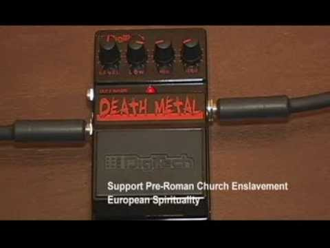 digitech death metal pedal demo youtube. Black Bedroom Furniture Sets. Home Design Ideas
