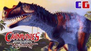 Охота на динозавров #2 Поймал ОПАСНОГО ЦЕРАТОЗАВРА в игре Carnivores: Dinosaur Hunter Reborn