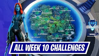 All Week 10 Challenges Guide in Fortnite Chapter 2 Season 4 | How to complete Week 10 Challenges