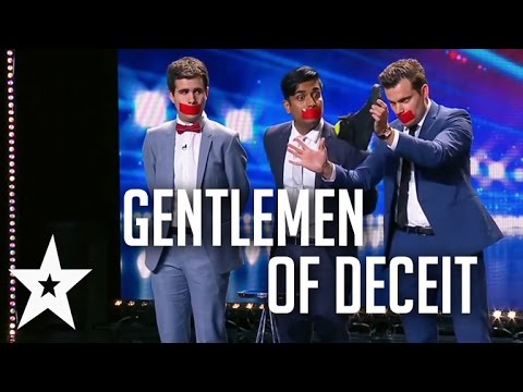 Gentlemen Of Deceit's Hilarious Magic Show On Australia's Got Talent