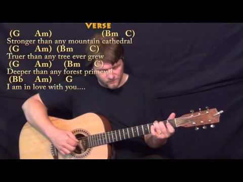 Longer (Dan Fogelberg) Fingerstyle Guitar Cover Lesson in G with Chords/Lyrics