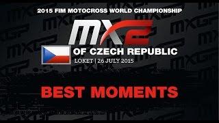 MXGP of Czech Republic MX2 Best Moments 2015