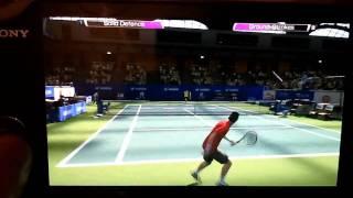 Virtua Tennis 4 PS Vita Gameplay (HD)