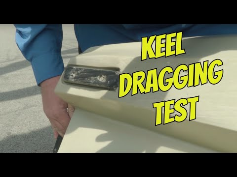 Keel Wear Test | Dragging a Kayak |Kayak Torture Test - Part 2