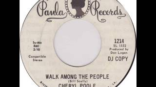 "Cheryl Poole ""Walk Among The People"""