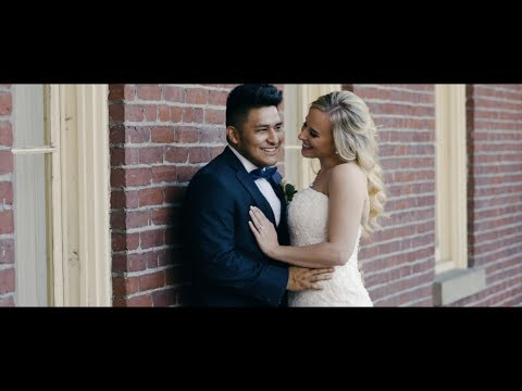 Alyssa & Christian  Wedding Film at Academy Chapel