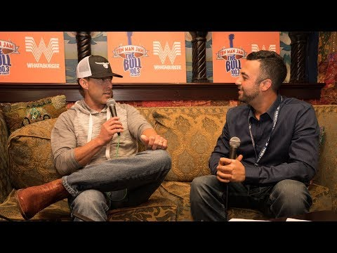 Aaron Watson Ten Man Jam Interview Backstage