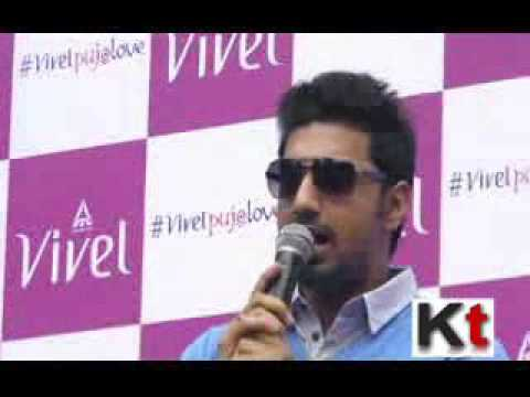 Dev launching Vivel Pujo Love - YouTube