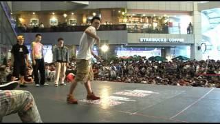 20111002 BATTLE-ISM Popping Crew Battle Audition-7 魁男塾vs BoogieM...