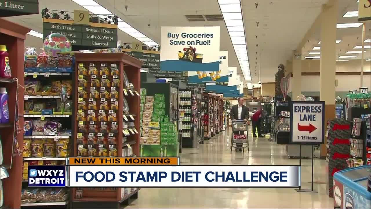 Food Stamp Diet Challenge