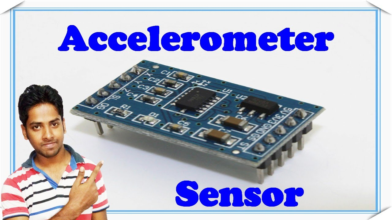 Accelerometer sensor || Explain with details in hindi ...
