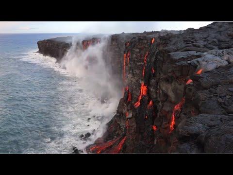 Big Island Lava Flow August 2016