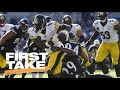 First Take reacts to Steelers' Antonio Brown sideline tantrum   First Take   ESPN