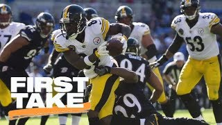 First Take reacts to Steelers' Antonio Brown sideline tantrum | First Take | ESPN