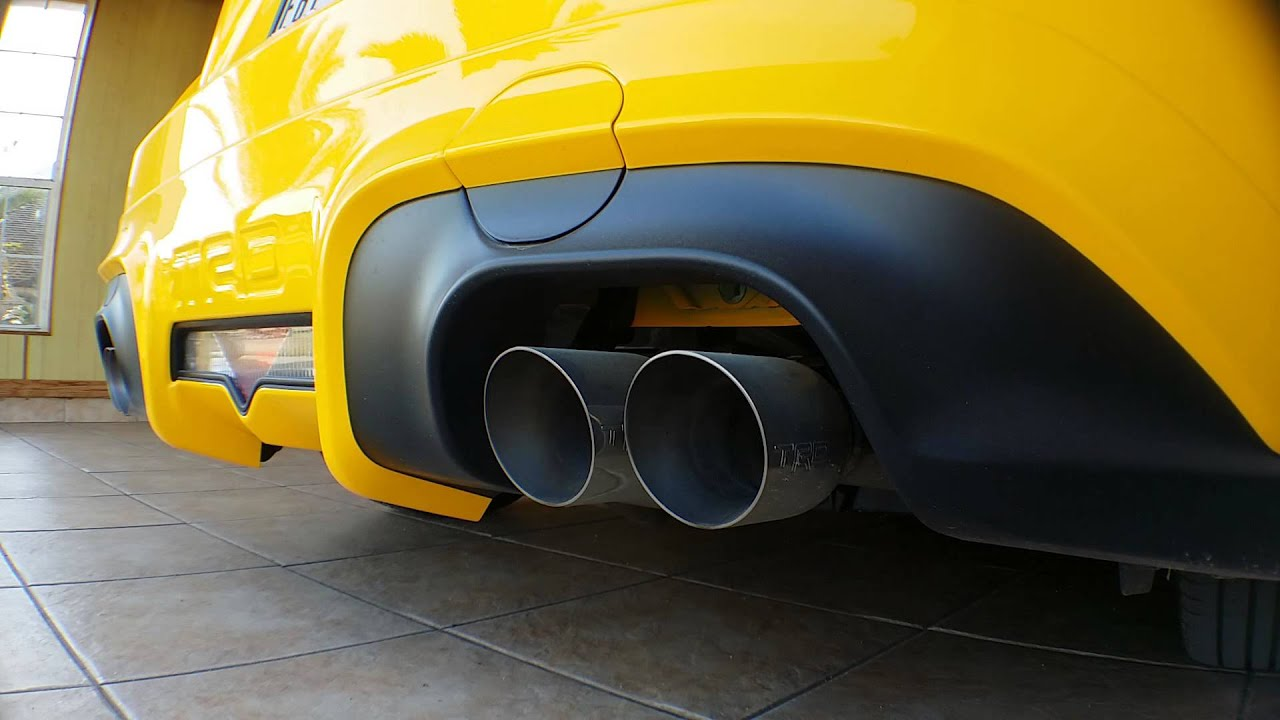 Scion FRS RS10 TRD exhaust  YouTube
