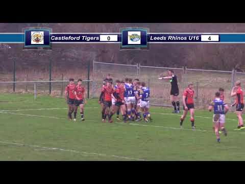 Castleford Tigers U16 4 Leeds Rhinos U16 12