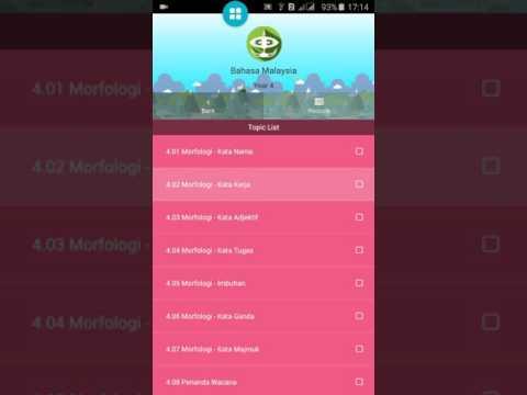 Home Tutor Malaysia - Cara Guna Apps iLearnAce Sasbadi Kali Pertama di Handpone Android