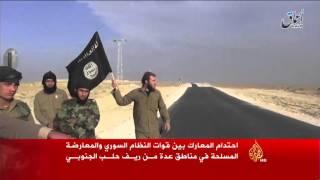 فيديو.. احتدام المعارك بين قوات النظام والمعارضة بريف حلب