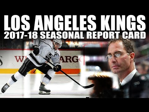 Los Angeles Kings Seasonal Report Card (2017-18)