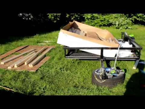 Building a shed from lowes May7&9 - YouTube