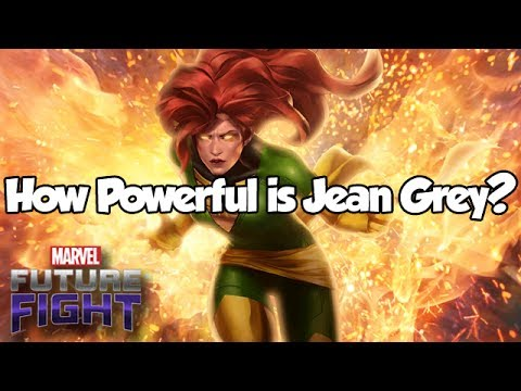 How Powerful is Jean Grey? - Marvel Future Fight