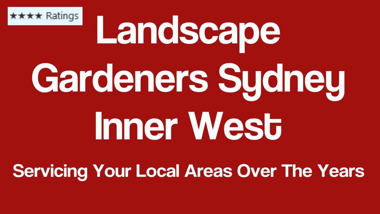 Landscape Gardeners Sydney Inner West Landscaping Garden Design