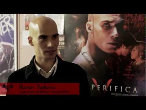 Martin Yurkovic interview, Vamperifica, Bram Stoker International Film Festival - Whitby, England