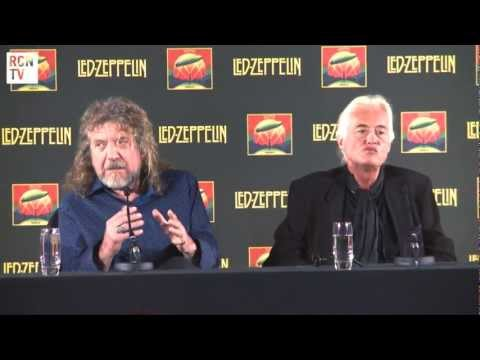 Led Zeppelin Interview - 2007 Reunion Concert