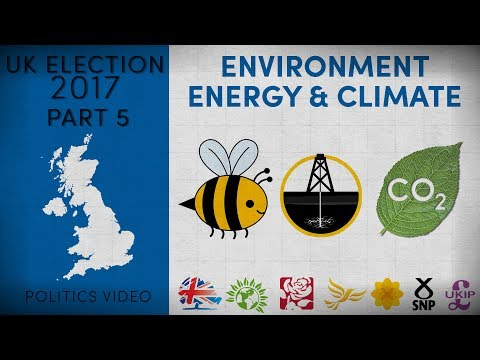 UK Election 2017 — Part 5 — Environment, Energy and Climate Change