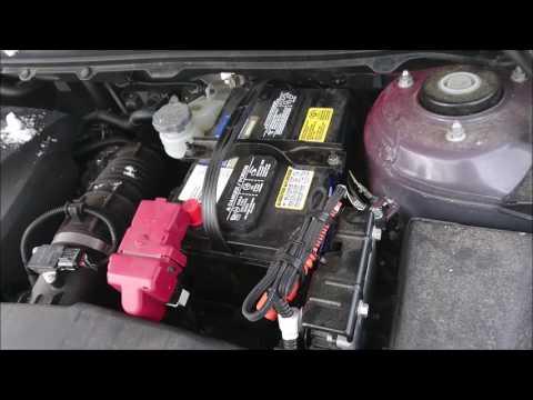 HOW TO REPLACE OR CHANGE CAR BATTERY IN SUZUKI KIZASHI 2011