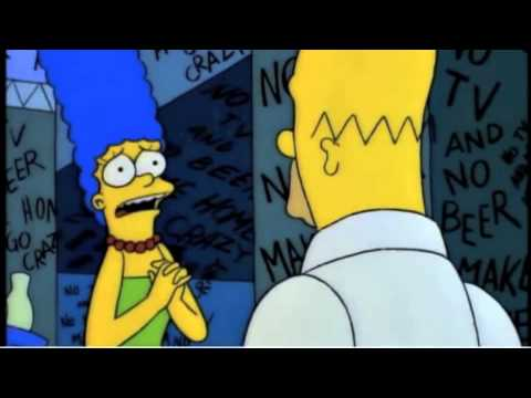 Shining Kubrick vs Shinning Simpsons typewriter scene