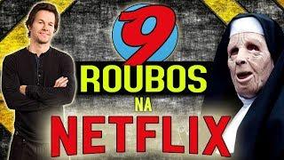 9 FILMES NA NETFLIX COM ROUBOS INCRÍVEIS!