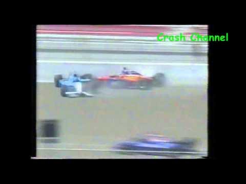 Irl Sarah Fisher Crash 2000
