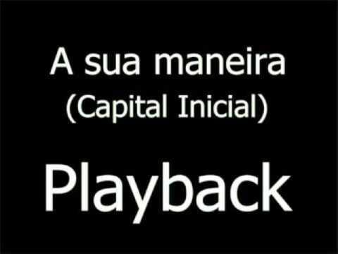 A SUA MANEIRA / PLAY BACK SEM GUITAR E VOCAL