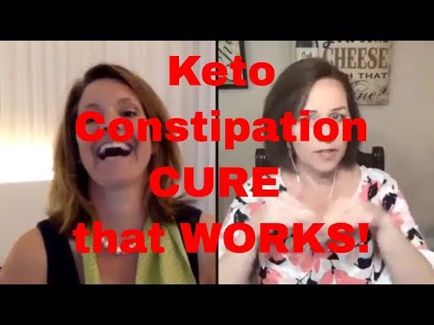 Keto Constipation Cure that WORKS!