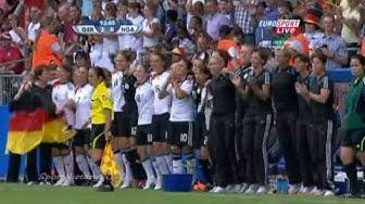 Deutschland - Nigeria 2:0 (Finale U20 Frauen Fussball-WM 2010)