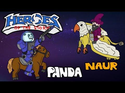 видео: heroes of the storm — Пудж с Науром