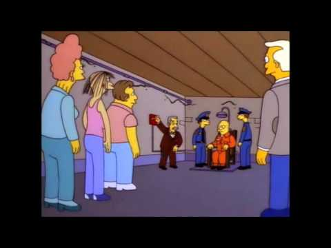 Simpsons Elektrischer Stuhl Youtube